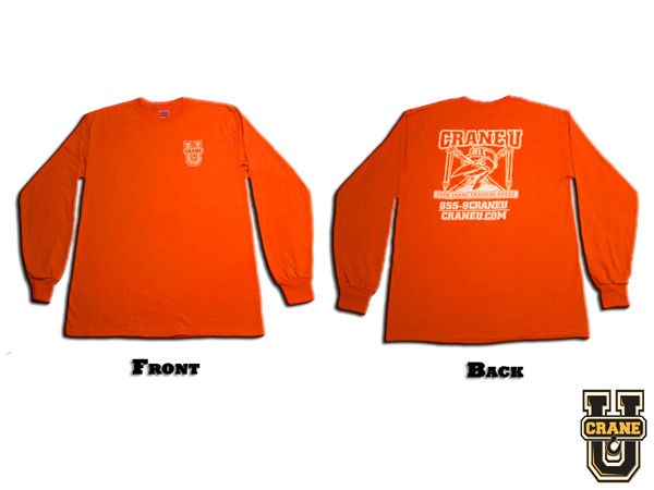 Crane U Safety T-Shirt - Long Sleeve