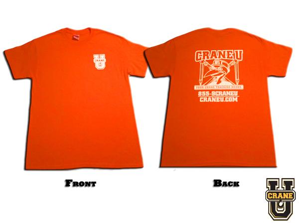 Crane U Safety T-Shirt - Short Sleeve